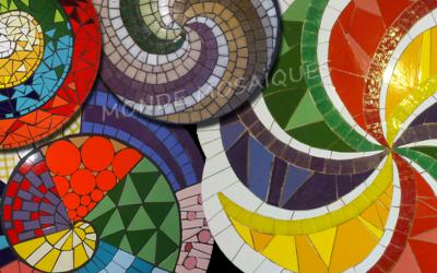 Tip mosaiquero: Diseñar Espirales en Mosaico