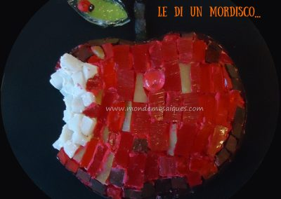 Mosaico 3D - Manzana