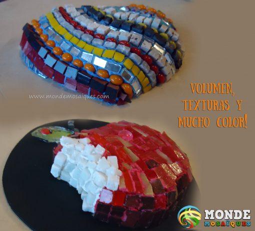 mosaiquismo texturas vidrios marmol