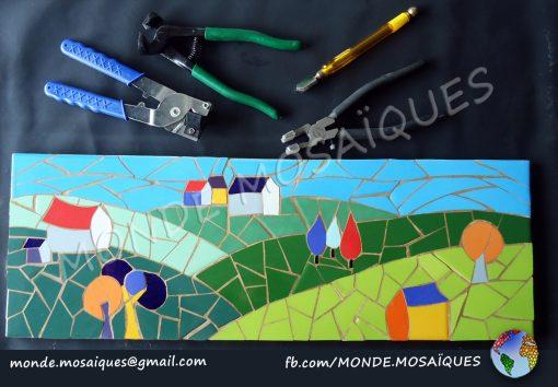 Paisaje Azulejos Trencadís