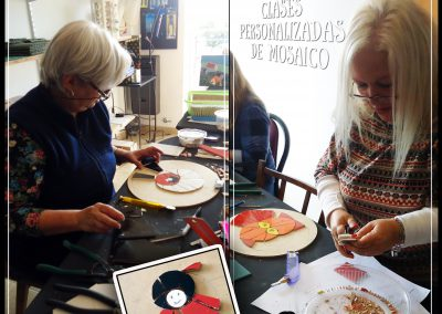 Mosaiquismo - espirales y mandalas