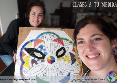 Clase mosaico mandala