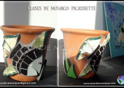 Clase personalizada mosaico Picassiette