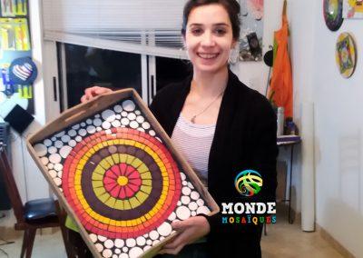 Bandeja Mandala Mosaico