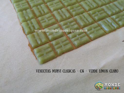 venecitas verde limon claro