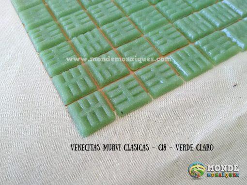 venecitas verde claro