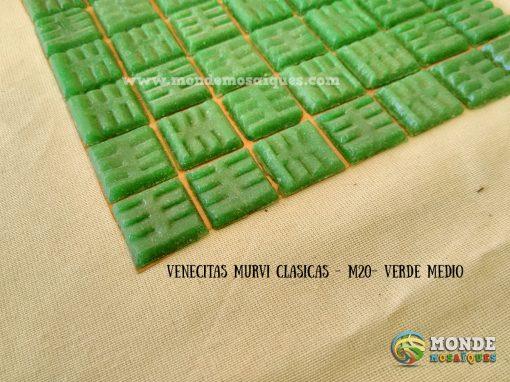 venecitas verde medio