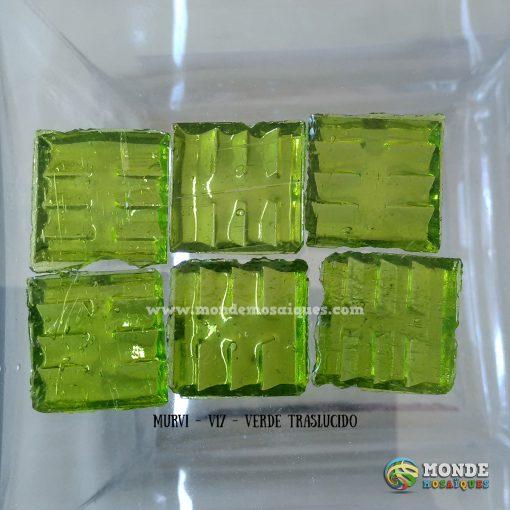 venecitas verde traslucidas
