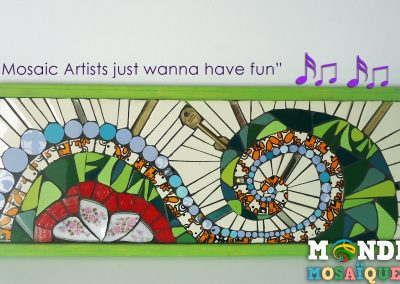 Mosaic Artists just wanna have fun