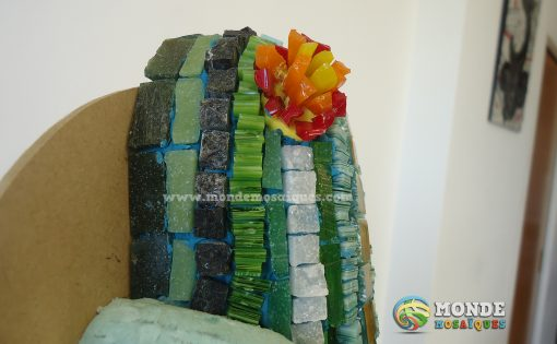 Texturas y color en mosaico