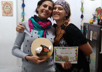 Con Mariana anfitriona en Andante! <3