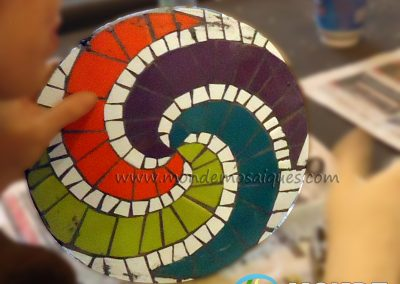 TAller espirales mosaico