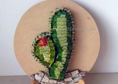 Cactus terminado sobre telgopor