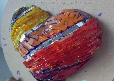 Corazon venecitas texturas