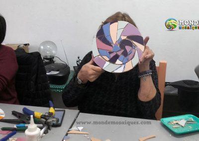espiral aureo con azulejos