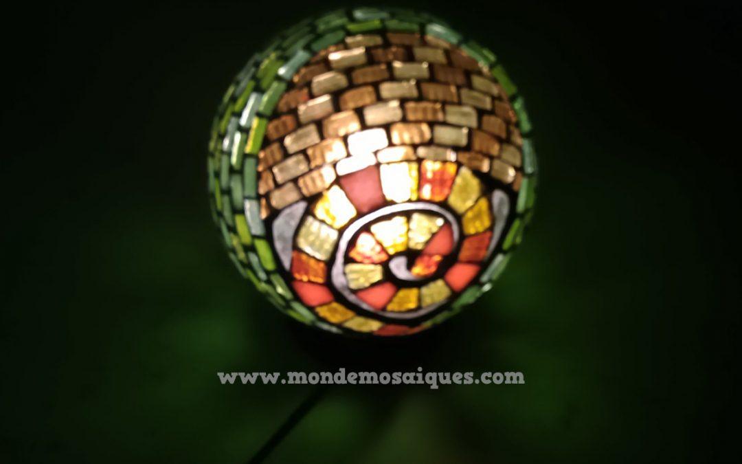 Tip mosaiquero: Luminarias en Mosaico