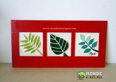 Mosaico Hojas Decorativo
