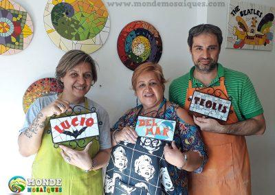 Paula, Delia y Beto
