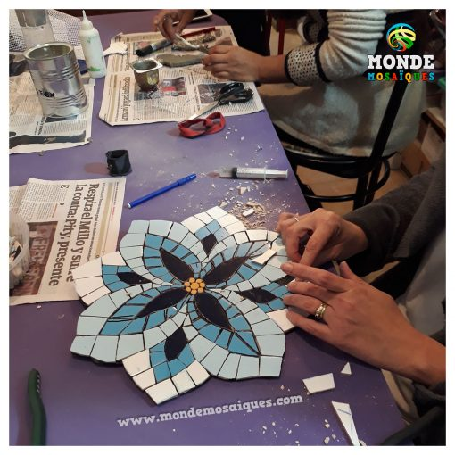 Taller de mosaico en Bs As