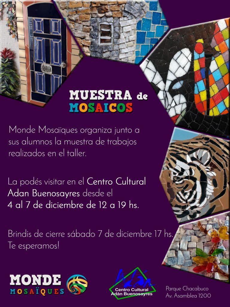 muestra expo exposicion flyer