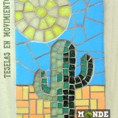 Cactus andamentos ejercicio mosaico
