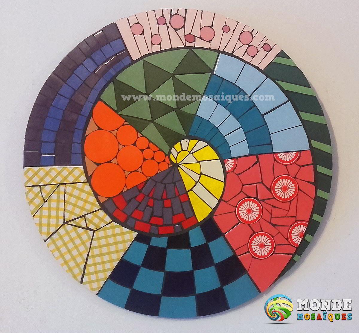 Colores espiral tramas andamentos