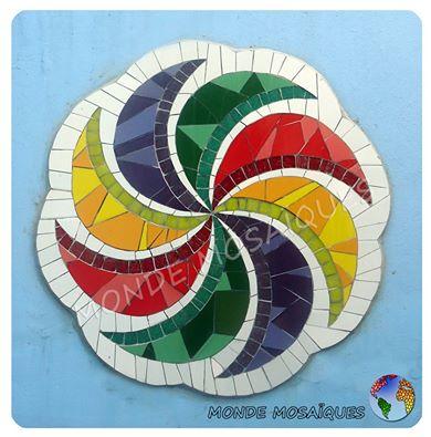 mandala en mosaico