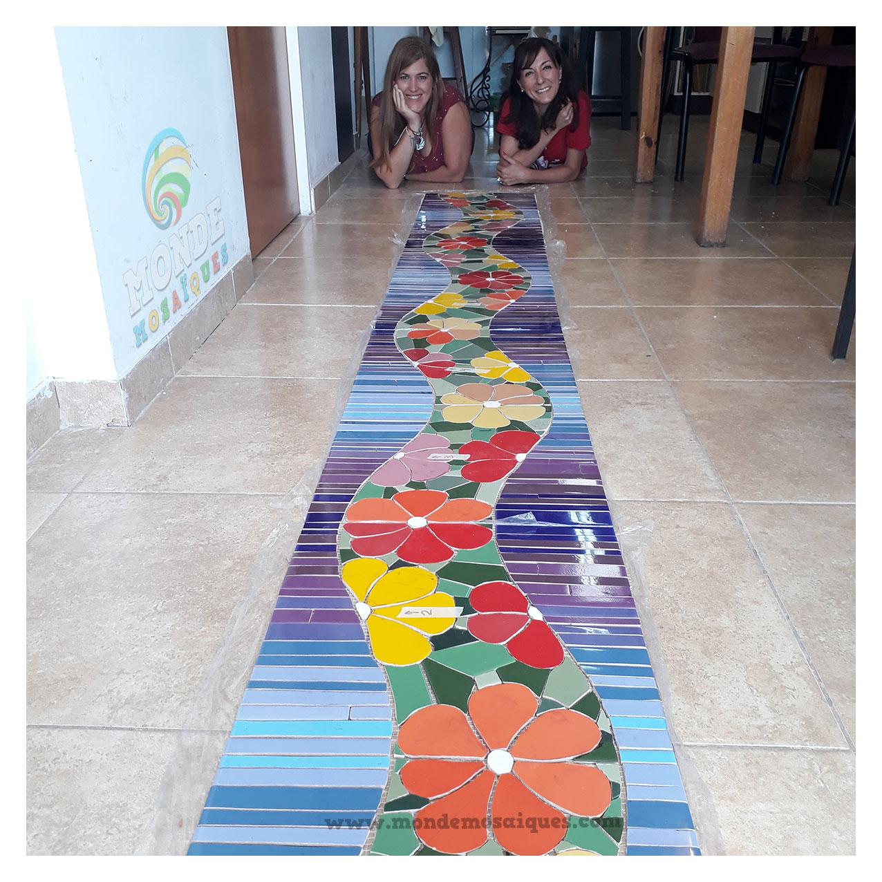 Mosaico a pedido para pared