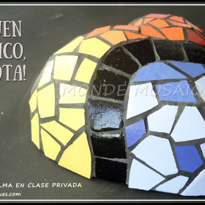 mosaico 3d corazon