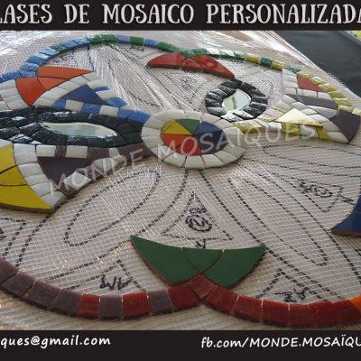 mandala con venecitas y azulejos