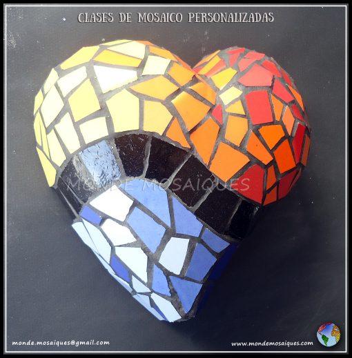 mosaico 3d sobre telgopor