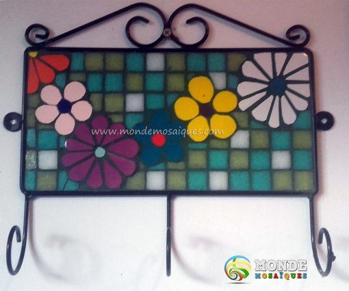 azulejos venecitas mosaico cortes perchero