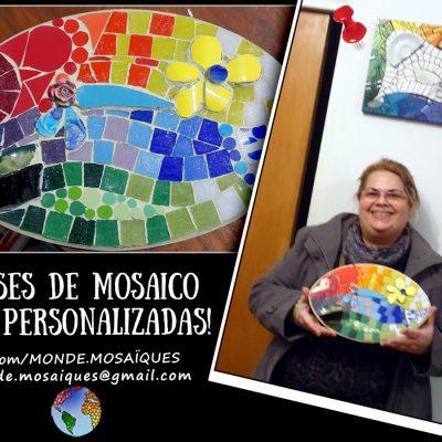 Clase privada mosaiquismo Silvia Uruguay