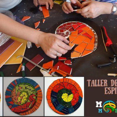 espirales taller mosaico tecnica