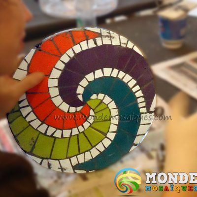 seminario intensivo espirales en mosaico