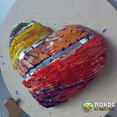 color venecitas texturas corazon 3d