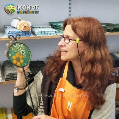 tutor chapa mosaico espejos azulejos espiral