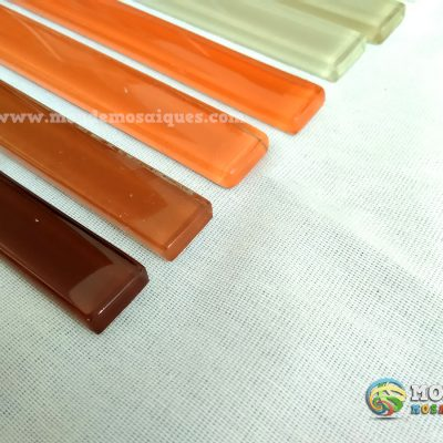 Listel vidrio colores