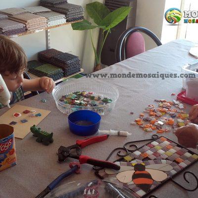 mosaico para niños