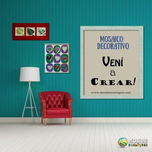 minimalismo pintura mosaico decorativo moderno