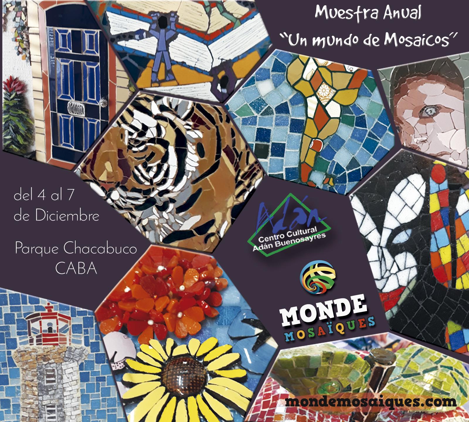 Flyer Expo Mosaicos