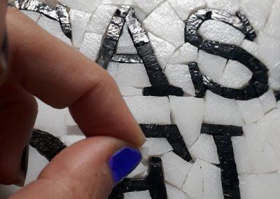 Cartelería en mosaico