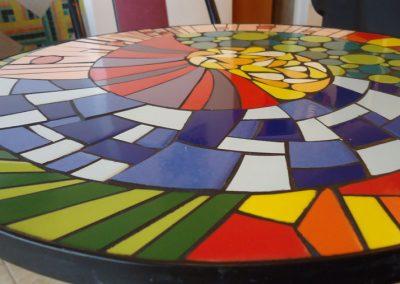 Espirales en mosaico