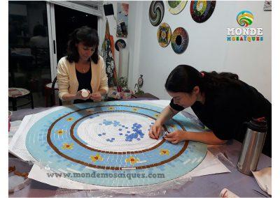Mantel en Mosaico