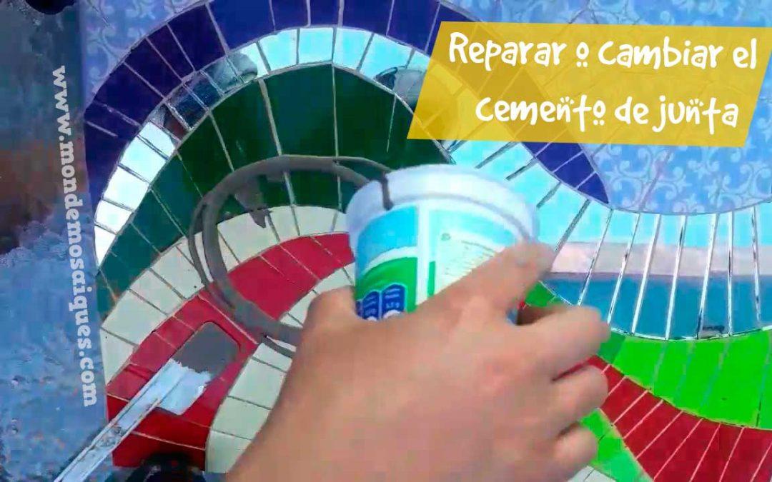 Cambiar color de cemento de junta